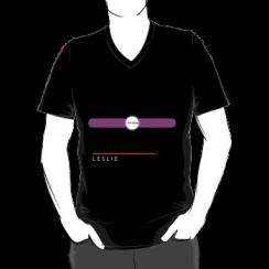 LESLIE - vneck silhouette