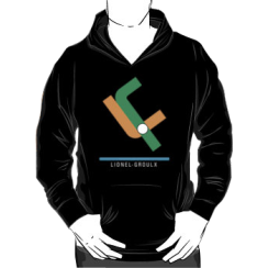 Lionel-Groulx - hoodie silhouette
