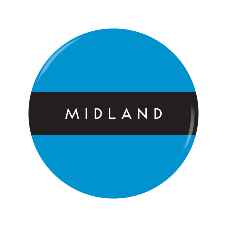 MIDLAND button