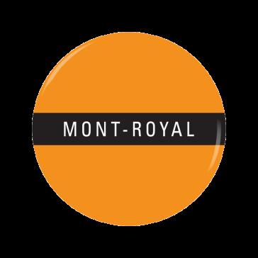 MONT-ROYAL button