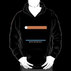 MONTMORENCY - hoodie silhouette
