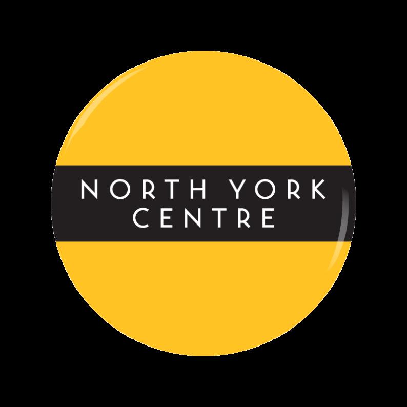 NORTH YORK CENTRE button