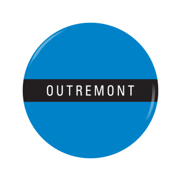 OUTREMONT button