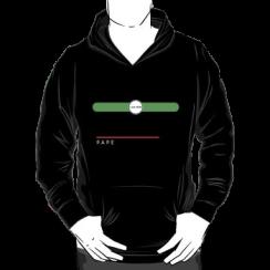 PAPE - hoodie silhouette