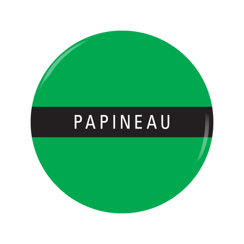 PAPINEAU button