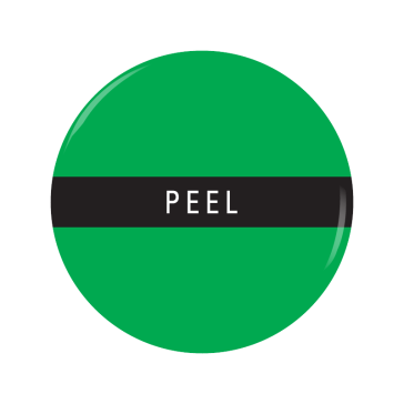 PEEL button