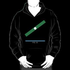 PIE-IX - hoodie silhouette