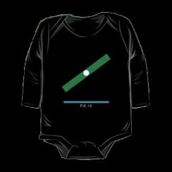 PIE-IX - onesie silhouette