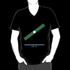 PIE-IX - vneck silhouette