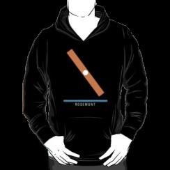 ROSEMONT - hoodie silhouette