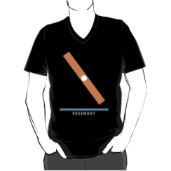 ROSEMONT - vneck silhouette