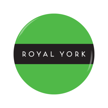 ROYAL YORK button