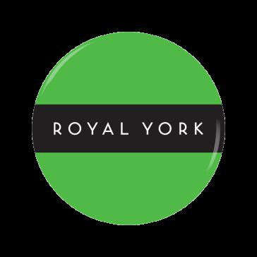 ROYAL YORK button