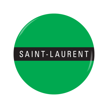SAINT-LAURENT button