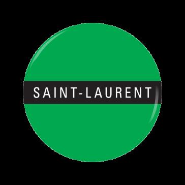 SAINT-LAURENT button