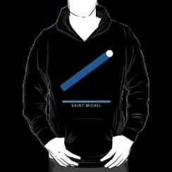 SAINT-MICHEL - hoodie silhouette