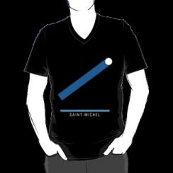 SAINT-MICHEL - vneck silhouette