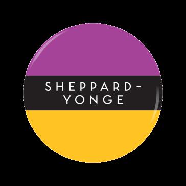 SHEPPARD-YONGE button