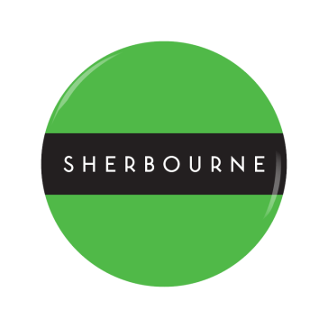 SHERBOURNE button