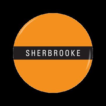 SHERBROOKE button