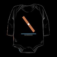 SHERBROOKE - onesie silhouette
