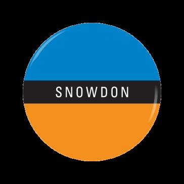 SNOWDON button