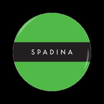 SPADINA [G] button
