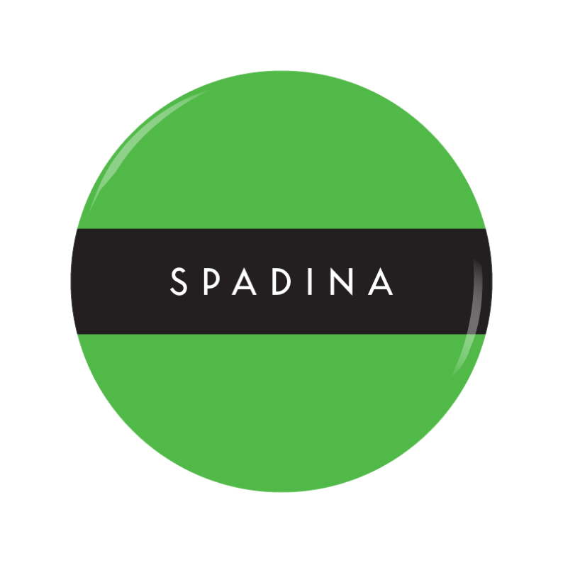 SPADINA [G] button