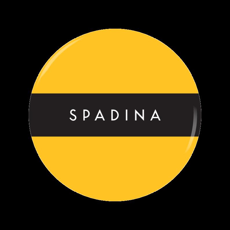 SPADINA [Y] button