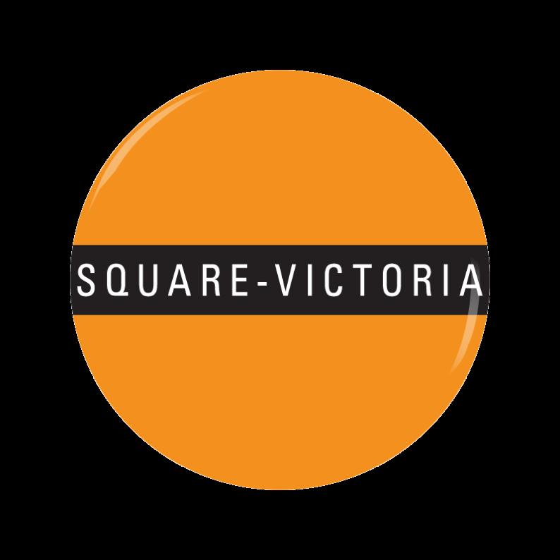 SQUARE-VICTORIA button