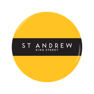 ST ANDREW button