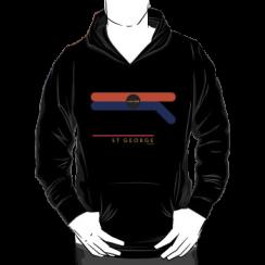 ST GEORGE 1966 - hoodie silhouette