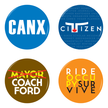 Toronto buttons