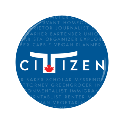 Toronto Citizen button