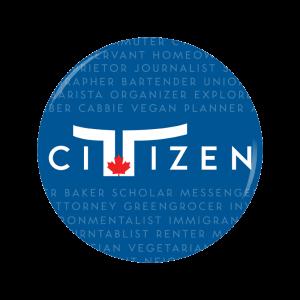 Toronto Citizen button