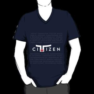 Toronto Citizen - vneck silhouette