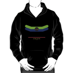 UNION 1966 - hoodie silhouette