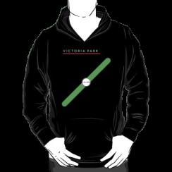 VICTORIA PARK - hoodie silhouette