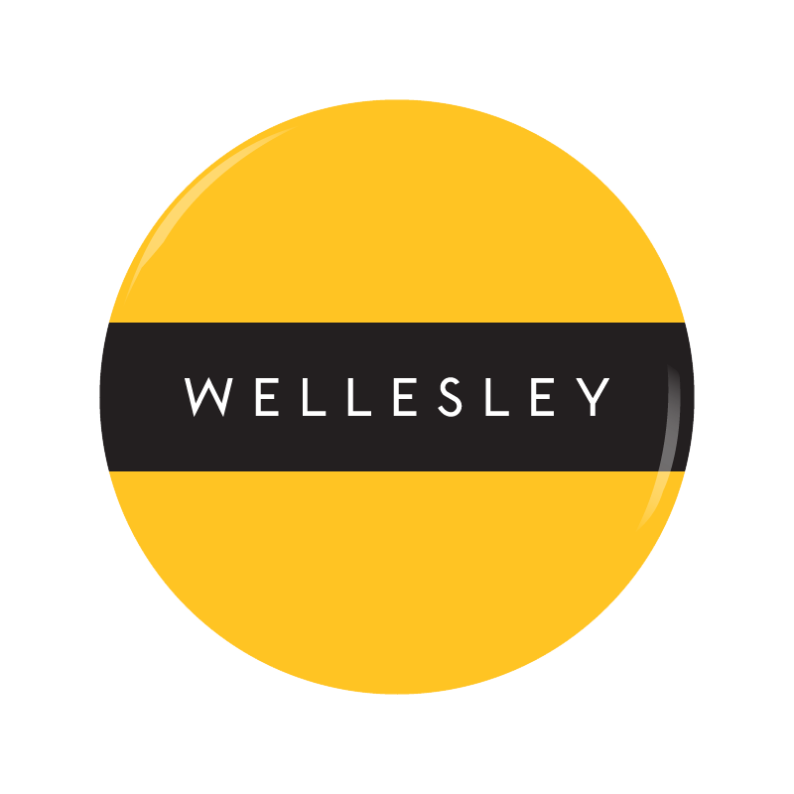 WELLESLEY button
