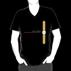 WILSON - vneck silhouette