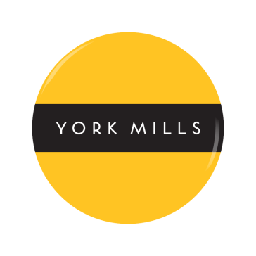 YORK MILLS button