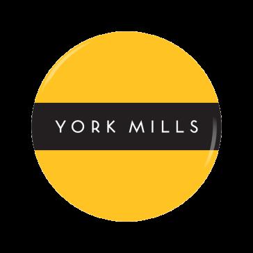 YORK MILLS button