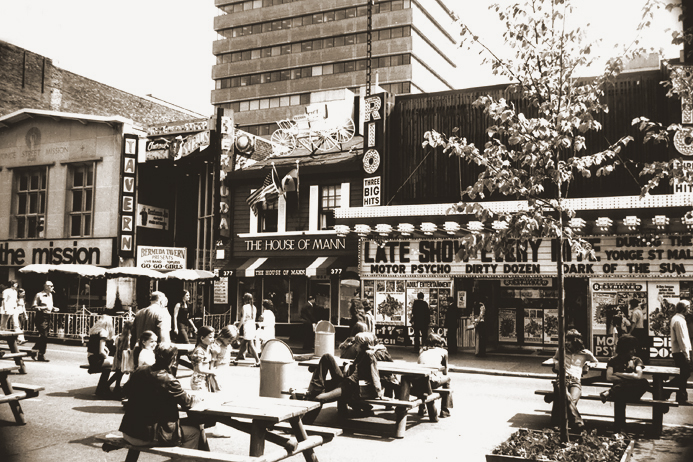 Yonge Street Mall, 1972 [City of Toronto Archives]
