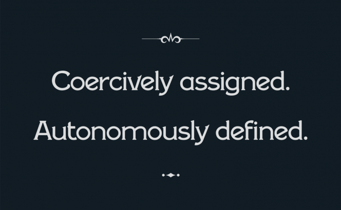 coercively-assigned