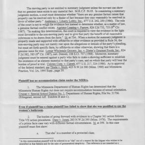 Page 1 [Memorandum]