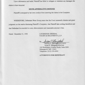 Page 9 [Fifth and Sixth Affirmative Defense]