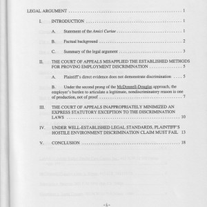Page i [Table of Contents]