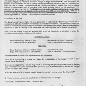 MnDHR Government Data Practices Notice